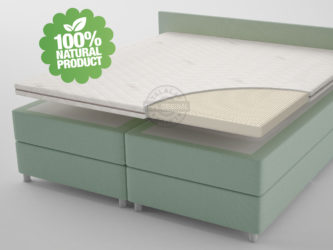 talalay latex topper 100% natuurlijk en ecologisch
