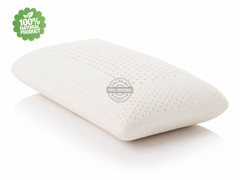 Talalay latex hoofdkussen 'Super Comfort'100% natuurlijk